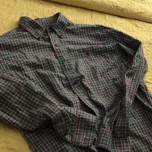 Polo Ralph Lauren Mens Plaid Shirt
